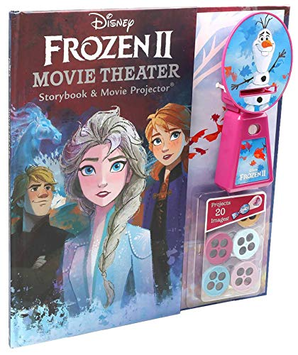 Disney Frozen 2 Movie Theater Storybook & Movie Projector. Buy it now for 12.69