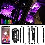 Illuminazione LED per interni –Trongle lampada per auto, 48LED, striscia di design a due...