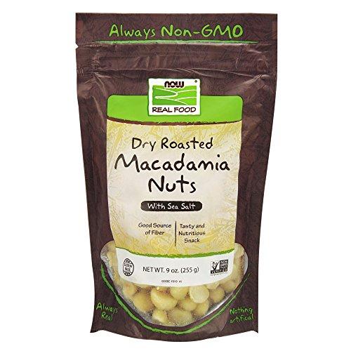 NOW Foods, Macadamia Nuts, Dry Roasted with Sea Salt