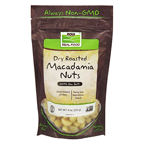 NOW Foods, Macadamia Nuts, Dry Roasted with Sea Salt
