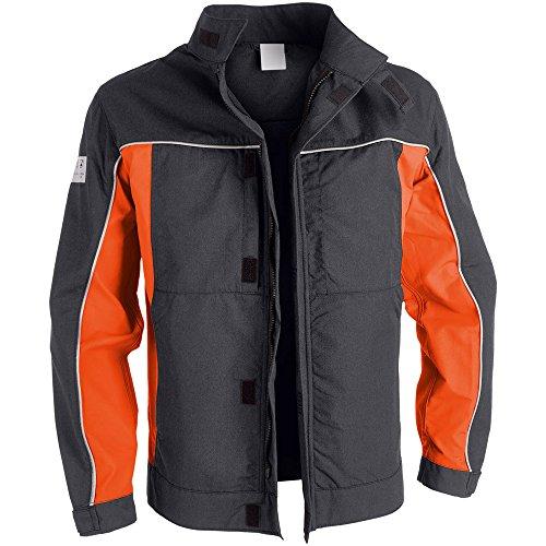 Kübler 13128313-9838-50 Jacke Psa Kermel, dunkelgrau/orange, 50