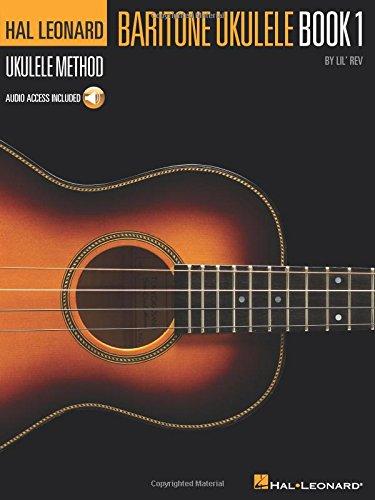 Hal Leonard Baritone Ukulele Method - Book 1: Lehrmaterial, CD für Ukulele