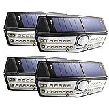 【Version Innovante】4 PACK 30 LED Mpow Lampe Solaire Etanche IPX6 Détecteur de...