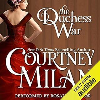 The Duchess War audiobook cover art