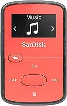 SanDisk Clip Clip Jam  - Reproductor MP3 , 8GB, Rojo
