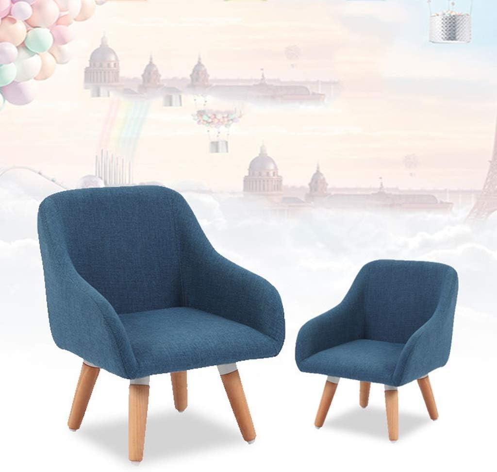 LAOMAO Maternelle Chaise épaississant la Chaise pour Enfants, Chaise de bébé Chaise en Bois Massif Enfant Maison Anti-Slip Tabouret 40cm (Couleur : D) E