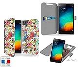 Funda Carcasa Xiaomi Mi4C Swag Grafiti Collection Pattern de almacenamiento innovadoras con tarjeta de la puerta interna - Estuche protector de Xiaomi Mi4C con fijación adhesiva reposicionable 3M