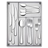 Best Flatwares - Hiware 40-Piece Silverware Set with Organizer Tray Review