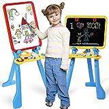 STEAM Life Art Easel for Kids 4 in 1 Magnetic Board,...