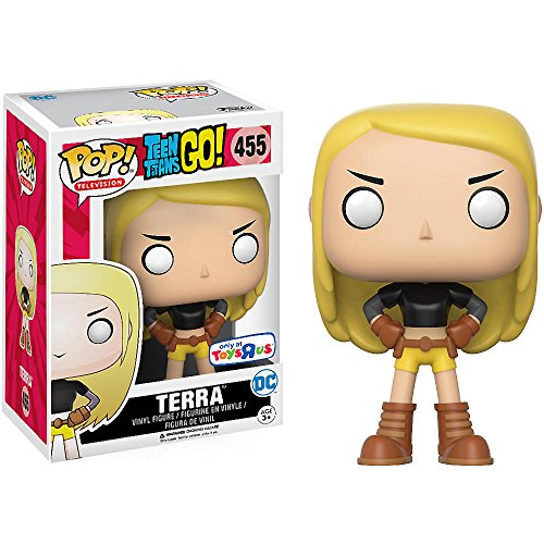 Terra (Toys R Us Exclusive): Teen Titans Go x Funko POP! TV Vinyl Figure & 1 POP! Compatible PET Plastic Graphical Protector Bundle [#455 / 11810 - B]