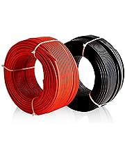 Desconocido Cable Solar 6mm Enerflex Solar Rojo 10metros Cables XLPE 1500v