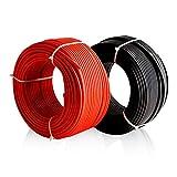 Plusenergy wccsolar Cable Solar Enerflex Ø6mm Rojo y Negro - 10mtrs Rojo / 10mtrs Negro