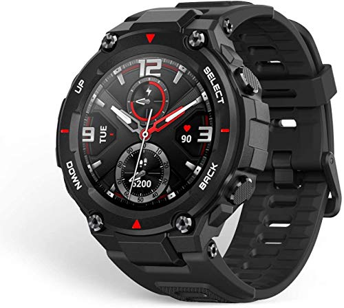 Huami Amazfit T-Rex Smart Watch with 20 Days Battery Life, AMOLED Display, Built-in GPS, 12 Military...