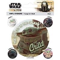 Star Wars The Mandalorian Stickers スター・ウォーズマンダステッカー