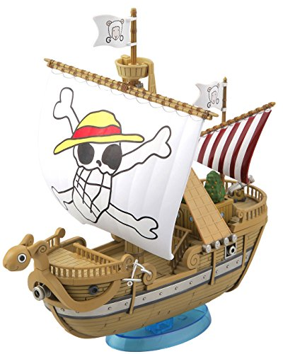 BANDAI Model Kit 17847 – 56228 One Piece – Grand Ship Collection pequeño – Going Merry Memo