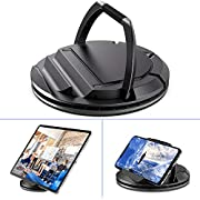 Portable Tablet Stand Holder, 360° Rotating Commercial Tablet Stand, Business Tablet Holder, Swivel Design for Store Retail Office Bedside Showcase Reception Kitchen Desktop, EURPMASK