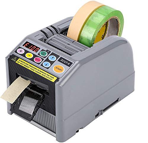 電動テープカッター 自動 電子テープカッター テープディスペンサー テープ切断機 業務用 自動カット 大巻/小巻両用 工場用 物流用 梱包用品 作業効率UP