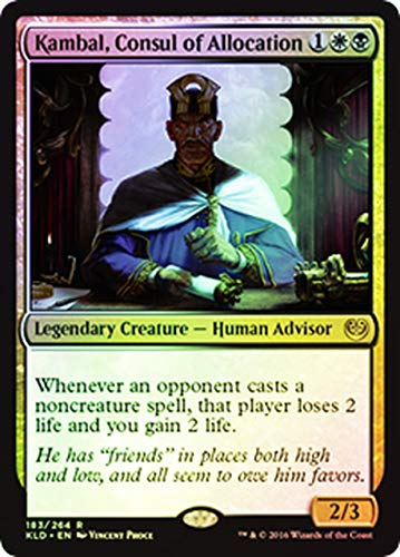 Magic The Gathering - Kambal, Consul of Allocation (183/264) - Kaladesh - Foil