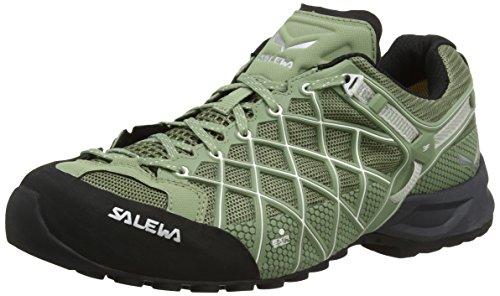 SALEWA Wildfire S Gore-Tex, Scarpe da trekking Uomo, Multicolore (Capulet Olive/white), 43 EU