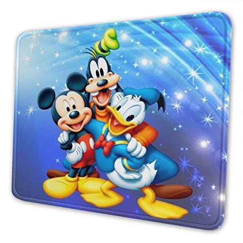 kerfac Non-Slip Mouse Pad, Waterproof Mouse Mat,Rubber Base Office Mousepad-mic_key