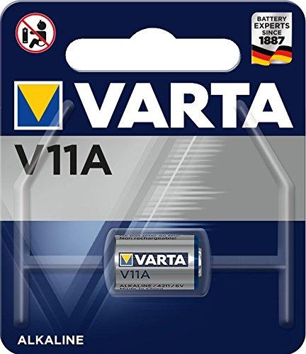 VARTA Batterien Electronics V11A Lithium Knopfzellen 1er Pack Knopfzellen in Original 1er Blisterverpackung