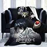 Anime Death Note Soft and Comfortable Blankets, Ultra-Soft Micro Fleece Blanket, for Bed Or Sofa, All-Season Quality Blankets50 X40