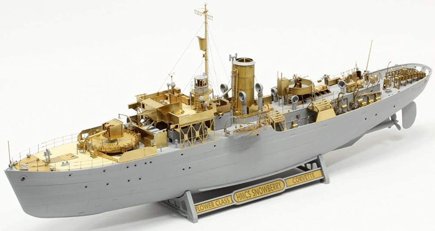 PO14401F1 HMCS Snowberry Flower Class Detail Up Set 1 144 für REVELL