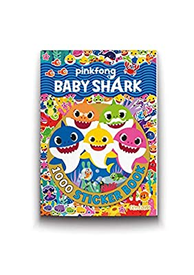 Baby Shark - 1000 Sticker Book