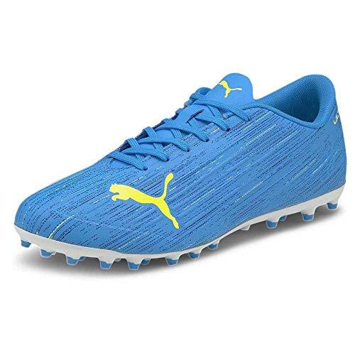 Puma Ultra 4.2 MG, Bota de fútbol, Nrgy Blue-Yellow Alert, Talla 9 UK (43 EU)