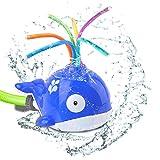 perfecti Garten Sprinkler Spielzeug Für Kinder, Cartoon Walform Drehbares Baby Badespielzeug,...
