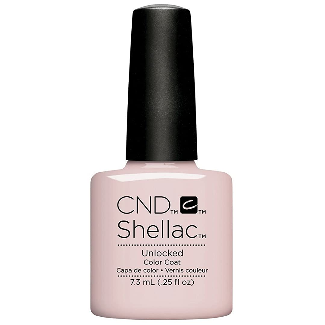 モネ民間民間CND Shellac - The Nude Collection 2017 - Unlocked - 7.3 mL / 0.25 oz