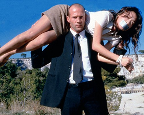 Jason Statham Carryingバインドされ、Gagged Qi Shu the Transporter 16 x 20キャンバス