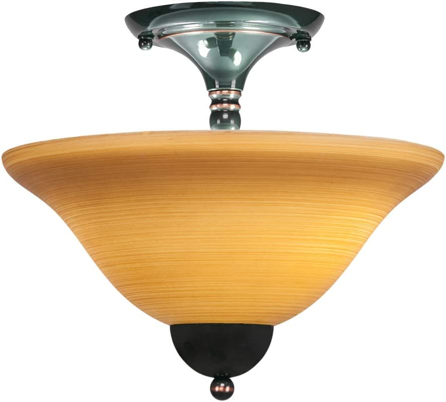 Toltec Lighting 120-BC-624 Sales of SALE items from new works Direct sale of manufacturer Two Mount Semi-Flush Light