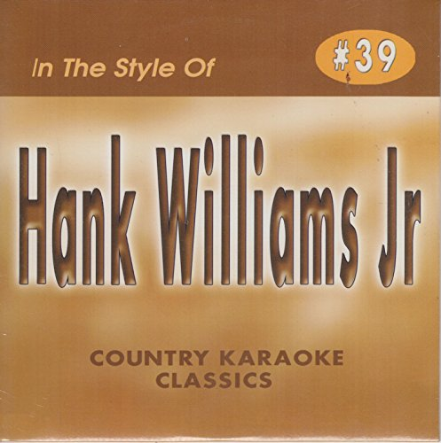 HANK WILLIAMS JR. Country Karaoke Classics CDG Music CD