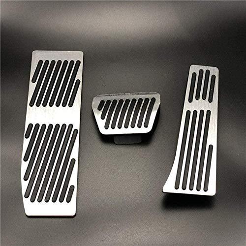 HZHAOWEI Accessori per modellismo Auto Pedale del Freno, per BMW Serie 3 5 E30 E32 E34 E36 E38 E39 E46 E87 E90 E91 X5 X3 Z3 Pedale-AT 3 Pezzi