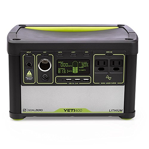 Yeti 400 Lithium Portable Power Supply