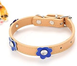 Ferplast Natural BE C20//43 Color Beige Collar para Perro 35-43 cm//20 mm