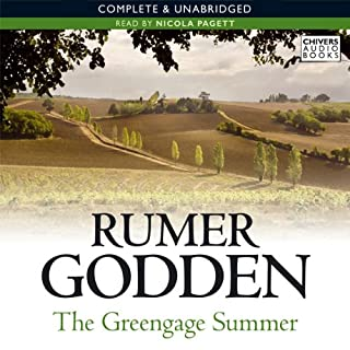 The Greengage Summer audiobook cover art