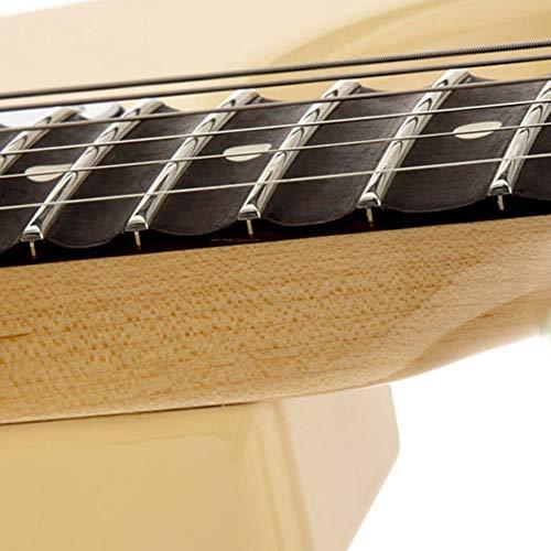 HENGYEE White Copper 2.2MM Acoustic Electric Guitar 24 Frets Fret Wire Fret wire Set Chrome