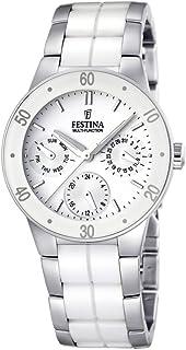 Festina - F16530/1 - Montre Femme - Quartz Analogique - Bracelet Acier Inoxydable Multicolore
