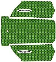 HYDRO-TURF(ハイドロターフ) デッキマット 3M カットダイアモンド 2T KAW SXR(17-)/BK on LimeGreen