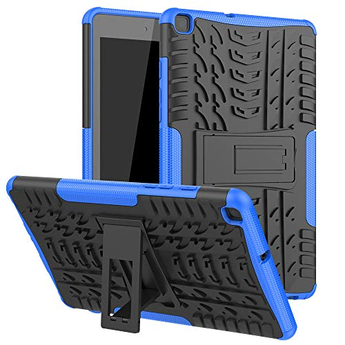 Maomi for Samsung Galaxy Tab A 8.0 Case 2019 (Without S Pen Model SM-T290/T295),[Kickstand Feature],Shock-Absorption/High Impact Resistant Heavy Duty Armor Defender Cover (Blue)