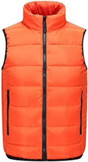EVLYN Men Packable Lightweight Down Vest Outdoor Puffer Vest