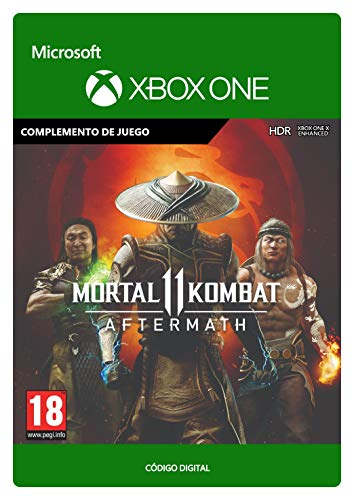 Mortal Kombat 11 Aftermath | Xbox One - Código de descarga