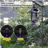 RBTT Non-rayonnement Tueur moustiques extérieur étanche 50-100 Offre carré d'énergie Solaire éclairage LED Convient pour Parc Villa Jardin communautaire Camping
