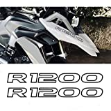 Black Doves Graphics 2pcs Pegatina R1200 compatibles para moto Motorrad LC R 1200 GS r1200gs