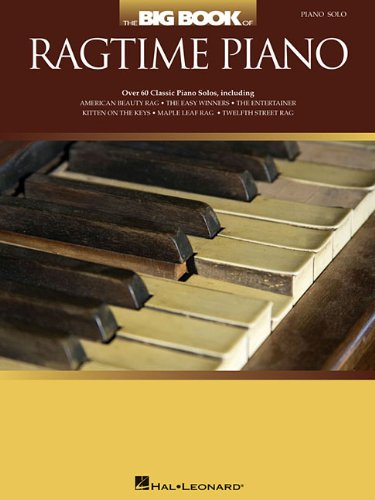 The Big Book Of Ragtime Piano: Noten, Sammelband für Klavier
