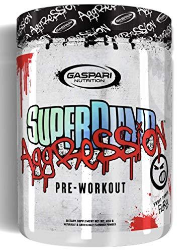 Gaspari Nutrition SUPERPUMP Aggression - Next-GEN PRE-Workout (Jersey Mobster Italian ICE, 25 SERV.)