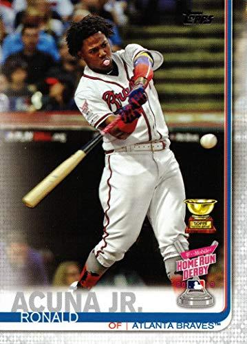 2019 Topps Update #US271 Ronald Acuna Jr. Baseball Card - 1st Career Home Run Derby - Topps All-Star Rookie