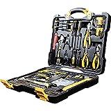 WMC TOOLS Werkzeugkoffer 144 teilig Bit Steckschlüsselsatz Werkzeuge Werkzeug Set Koffer gefüllt...